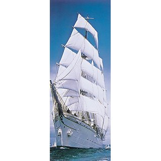 Brewster 2-1017 Sailing Ship 2-Part Door Mural, 2-Foot 10-Inch by 7-Foot 3-Inch