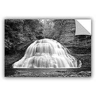 ArtWall Dan Wilsons New York-Treman Falls Art Appeelz Removable Graphic Wall Art, 32 by 48-Inch