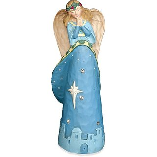Angelstar Jewels of Faith Christmas Angel Figurine, 5-1/2-Inch