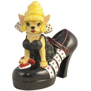 Westland Giftware Vegas Heel Chihuahua Figurine