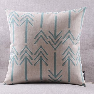 Onker Cotton Linen Square Decorative Throw Pillow Case Cushion Cover 18