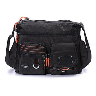 Mens Oversized Military Messenger Bag Waterproof Nylon Hiking Bag Outdoor Sports School Duffel Bag Camera Bag Durable Sh