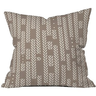 DENY Designs Khristian a Howell Studio Stripe Throw Pillow, 26 by 26-Inch