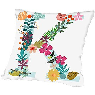 American Flat K Pillow by Mia Charro, 18
