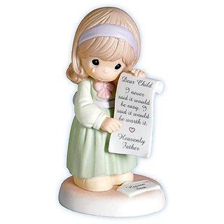 Precious Moments Figurine Heaven Sent Girl