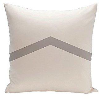 E By Design CPG-N50-Rain-16 Geometric Throw Pillow, 16-Inch, Rain