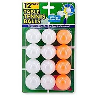 One Dozen Beer Pong Table Tennis Balls! Set of 2