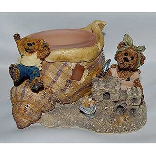 Boyds Bears & Friends - Bailey and Huck ... Wheee!!! Votive - Style # 27752