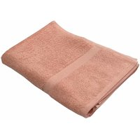 Lushomes Ultra Soft Unidyed Peach Terry Bath Towel (650 GSM)