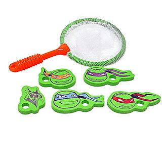 Teenage Mutant Ninja Turtles Net Catch Game (Diecut Eva Characters)