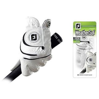 FootJoy 2013 Lady WeatherSof Golf Glove Fit to Right Hand Regular Medium-Large