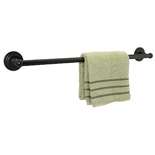 Dynasty Hardware DYN-2602-ORB Newport 24-Inch Single Towel Bar, Oil Rubbed Bronze