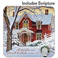 Coasters Set Of Four - Christmas Lights - John Sloane & Legacy