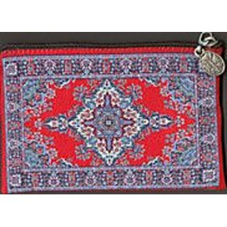 Oriental Carpet Coin Purse - Urumchi Design