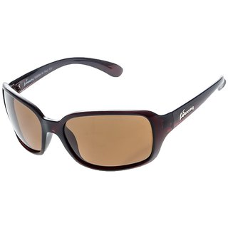 VELOCITY P91256 BROWN BROWN WOMEN'S POLARIZED SUNGLASSES Free Kids Sunglasses