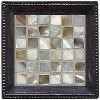 Thirstystone Ambiance Coaster Set, Caprice Shell, Multicolored
