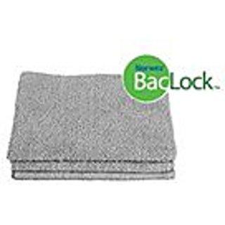 Norwex Antibacterical, Antimicrobial, Microfiber Wash Cloths (Graphite, 3 Wash Cloths)