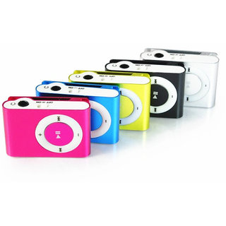 DyMate All New Clip Style Metal Mp3 Player With Free Earphone  USB Cable