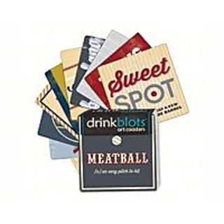 Magnet Works MAILDB11394 Baseball Lingo Coasters