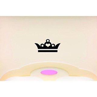 Design with Vinyl Moti 1428 1 Princess Crown Girls Teen Kids Bedroom Peel & Stick Wall Sticker Decal, 10