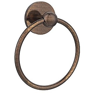 Allied Brass 1016-VB Skyline Collection Towel Ring, Venetian Bronze