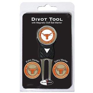 NCAA Texas Longhorns 3 Marker Signature Golf Divot Tool Pack