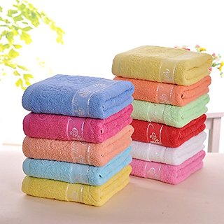 YAROO 100% Cotton Bath Towels, Easy Care,High Absorbent, For Home, Outdoor and Travel Use ,55x27 inch-green.