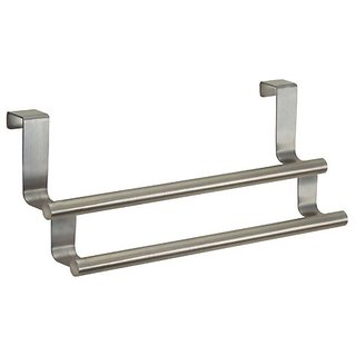 InterDesign Forma Over-the-Cabinet Kitchen Dish Towel Bar Rack - 9