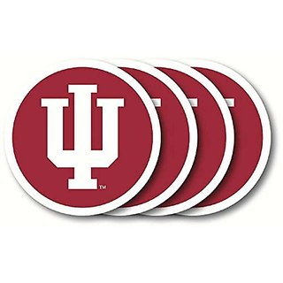 Indiana Hoosiers Coasters (4 Pack)