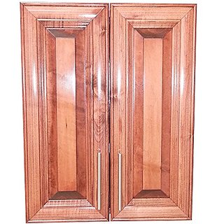 Wood Cabinets Direct TER-321-BDC Terrell 2-Door Recessed Frameless Medicine Cabinet, 21