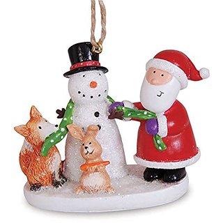 Cape Shore 2.5 Snowman and Santa Ornament
