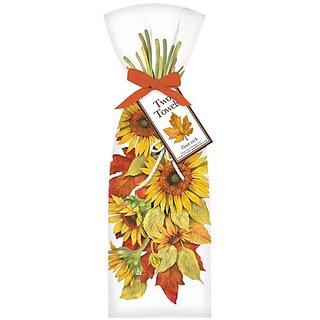 Hanging Sunflower Towel Set