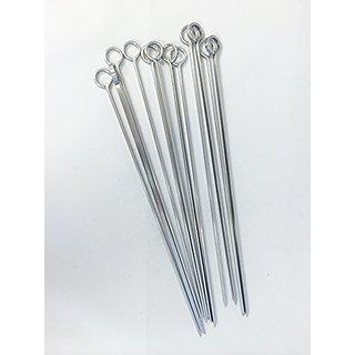 Eppicotispai EP-23/25 Stainless Steel Barbeque Skewers, 25cm, 12-Pack