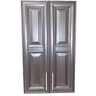 Wood Cabinets Direct TER-740-BL Terrell 2-Door on The Wall Frameless Medicine Cabinet, 5.5