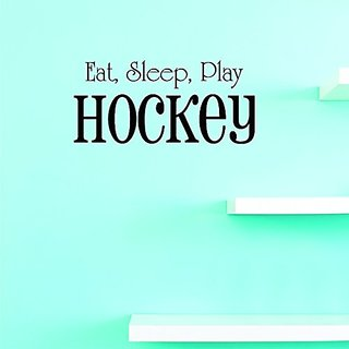 Design with Vinyl JER 396 1 Eat Sleep Play Hockey Quote Sports Team Vinyl Wall Decal Sticker, 8