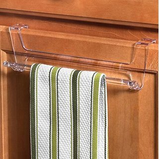Spectrum Diversified 89850 Clear Over The Cabinet Towel Bar