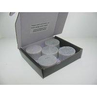 Spirit Stones Whiskey Disc Pack Of 5 Soapstone Rocks Round Disk