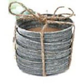 Mason Jar Lid Coasters Set of 4