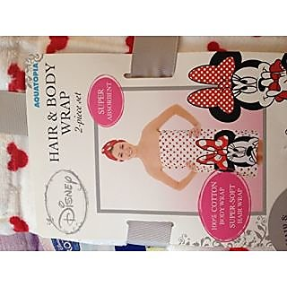 Disney Minnie Mouse Hair and Body Wrap