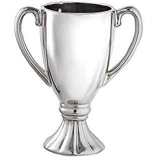 Prinz Antique Silver Ceramic Large Trophy