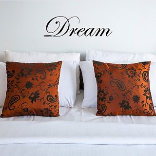 Inspirational Wall Decal - Dream - Removable Vinyl Sticker - Katazoom Wall Decals