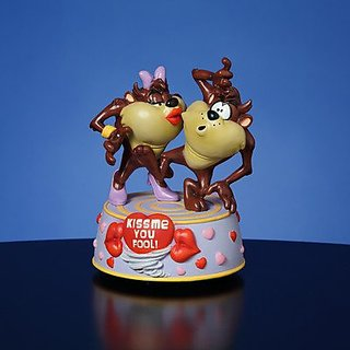 Taz Kiss Me You Fool Musical Figurine