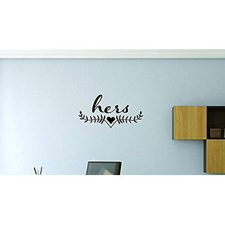Design with Vinyl Moti 1712 3 Hers Peel & Stick Wall Sticker Decal, 20