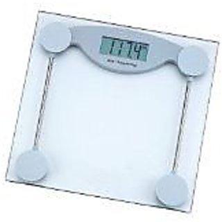HealthSmart ELSCALE3 HealthSmart Glass Electronic Bathroom Scale