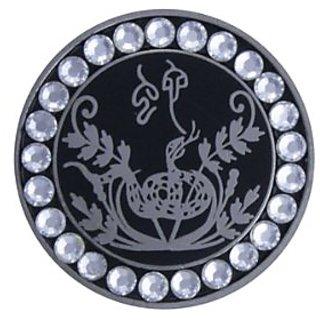 Bella Crystal Zodiac Silver-Snake Hat Clip Set