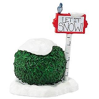 Department 56 Authentic Village Accessories Let it Snow Figurine