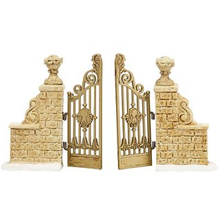 Department 56 Accessories Village Tudor Gardens Gate Accessory, 0.98-Inch