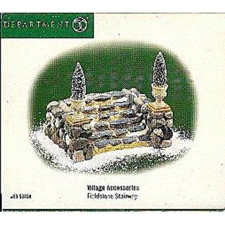 Department 56 Village Accessories Fieldstone Stairway