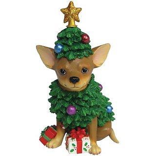 Westland Giftware Chihuahua Christmas Tree Figurine
