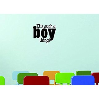 Design with Vinyl Moti 1442 1 Its Such A Boy Thing Kids Teen Bedroom Playroom Sign Peel & Stick Wall Sticker Decal, 12